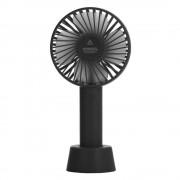 Портативный настольный вентилятор Portable Fan mini (Черный)