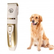 Машинка для стрижки животных Pet Grooming Hair Clipper (Белый)