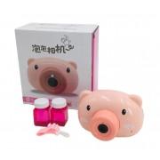 Генератор мыльных пузырей Bubble Camera (Розовый)