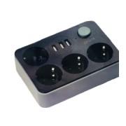 Фильтр сетевой CX-U314 (Белый)
