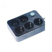 Сетевой фильтр CX-E205 Safety Power Socket 5 розеток (Серый)