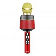 Беспроводной караоке микрофон Q008 (Красный)