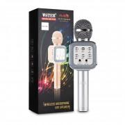 Беспроводной караоке микрофон Wster WS-1818 (Серебристый)