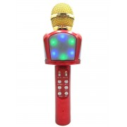 Беспроводной караоке микрофон ZBX-918 (Красный)