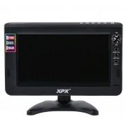 Переносной мини телевизор XPX EA-1017D (Черный)