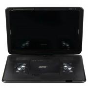 Портативный цифровой DVD-плеер XPX EA-1667D (Черный)