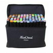 Набор маркеров Touch cool 80 цветов (Черный)
