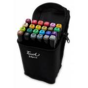 Набор маркеров Touch 24 цвета (Черный)