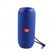 Портативная Bluetooth колонка T&G TG-117 (Синий)