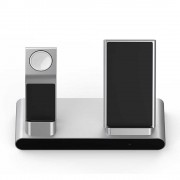 Беспроводное зарядное устройство WIWU Power Air 3 in 1 (Серый)