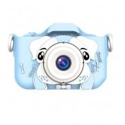 Детский фотоаппарат Собачка (Голубой)