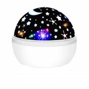 Светодиодный Disco проектор Magic Ball (Белый)