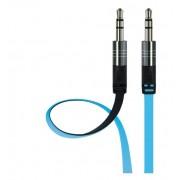 Аудио кабель Interstep AUX BW 3.5мм jack - 3,5мм jack 2 м (Черно-голубой)