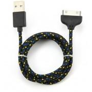 Кабель SMART BUY для IPhone 4/4S, USB 2.0 - 30-pin, 1.2 м (Черный)