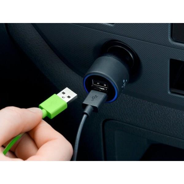 Автомобильное зарядное устройство Interstep RT: 2USB+Type-C USB 2А