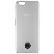 Чехол-аккумулятор Interstep 3000мАч для iPhone 7 (серебро)