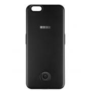 Чехол-аккумулятор Interstep 3000мАч для iPhone 7/6 (черный матовый)