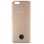 Чехол-аккумулятор Interstep 3000мАч для iPhone 7/6 (золото)