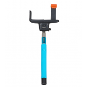 Монопод Interstep с Bluetooth кнопкой MP-110B (синий)
