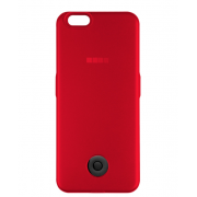 Чехол-аккумулятор Interstep 3000мАч для iPhone 7/6 (красный)