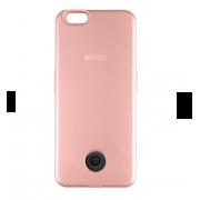Чехол-аккумулятор Interstep 3000мАч для iPhone 7/6 (розовый)