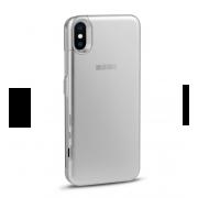 Чехол-аккумулятор Interstep 3000мАч для iPhone X (серебро)