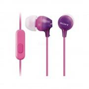 Гарнитура Sony MDR-EX15AP (Фиолетовый)