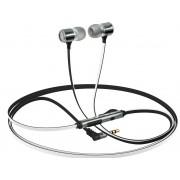 Минигарнитура Interstep BW Metal iPhone/Samsung/Lumia (Белая)