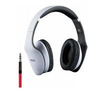 Гарнитура с микрофон Interstep HDP-200 с адаптером для ПК (Белая)