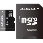 Карта памяти MicroSD 16GB A-Data Class 10 Premier UHS-I + SD адаптер
