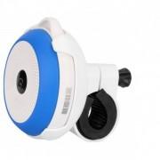 Портативная Bluetooth акустика с велокреплением Interstep SBS-200 (бело-синяя)