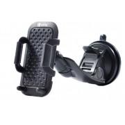 Универсальный держатель Interstep PU SH-30 STICK для смартфонов до 6 дюйм (черный)