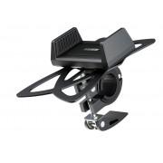 Велосипедный держатель смартфона Interstep, поворот 360 градусов (черный)