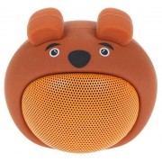 Детская Bluetooth акустика InterStep 3W SBS-170 FUNNY BEAR, коричневая