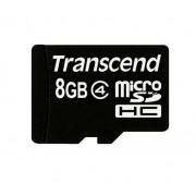 Карта памяти MicroSD 8GB Transcend Class 4 без адаптера