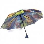 Зонт женский автоматический Pasio PS-039-1 (Фиолетово-желтый)