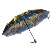 Зонт женский автоматический Pasio PS-039-2 (Сине-желтый)