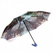 Зонт женский автоматический Pasio PS-039-4 (Коричневый)
