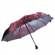Зонт женский автоматический Pasio PS-037-1 (Голубой)
