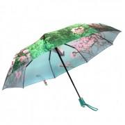 Зонт женский автоматический Pasio PS-037-3 (Зеленый)