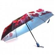 Зонт женский автоматический Pasio PS-037-4 (Розово-синий)