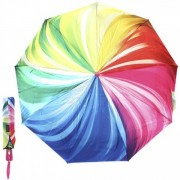 Зонт женский автоматический Pasio PS-107-6 (Розовый-мультиколор)