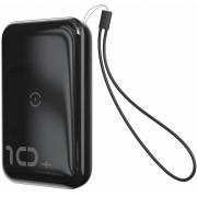 Внешний аккумулятор Baseus Mini S Bracket 10W Wireless Charger Power bank 10000mAh 18W PPXFF10W-01 (Черный)