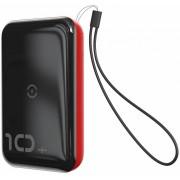 Внешний аккумулятор Baseus Mini S Bracket 10W Wireless Charger Power bank 10000mAh 18W PPXFF10W-19 (Черно-красный)