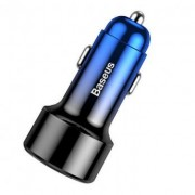 Автомобильное зарядное устройство Baseus Magic Series PPS digital display Intelligent dual quick charging and car charging of 45W CCMLC20C-03 (Синий)