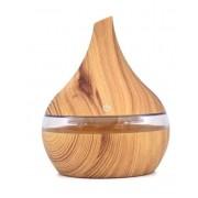 Увлажнитель ароматический воздуха 022 Аиша HM-034 для дома (Светлое дерево)