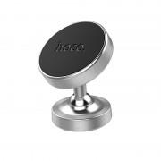Автодержатель для смартфона Hoco CA36 Plus Dashboard metal magnetic in-car holder (Серебристый)