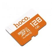 Карта памяти Hoco micro SDXC Card 128Gb Class10 (Оранжевый)
