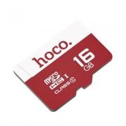 Карта памяти Hoco micro SDHC Card 16Gb Class10 (Коричневый)