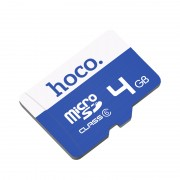 Карта памяти Hoco micro SDHC Card 4Gb Class6 (Синий)